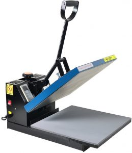 t shirts heat press machine