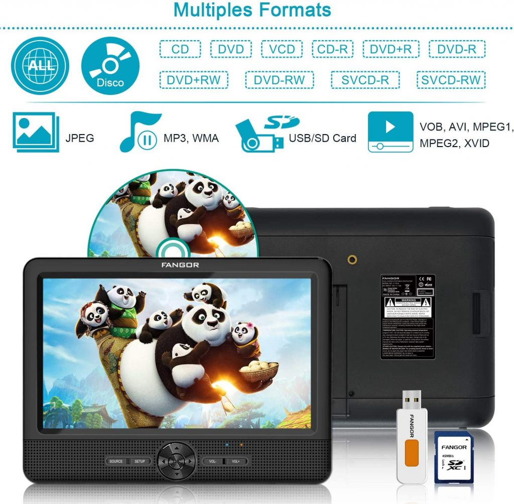 dvd system for car